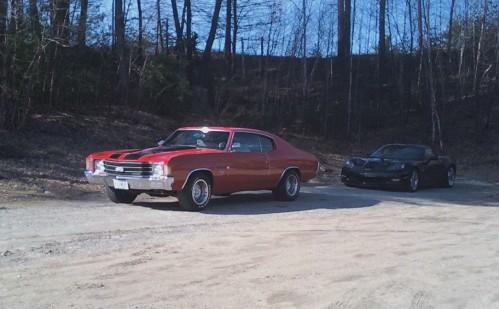 A Chevy Chevelle in Hooksett